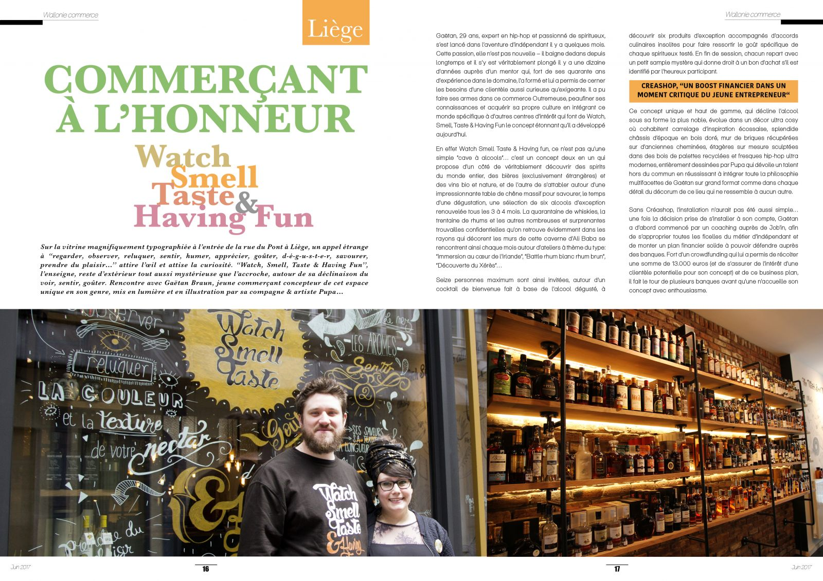 Wallonie Commerce Magazine