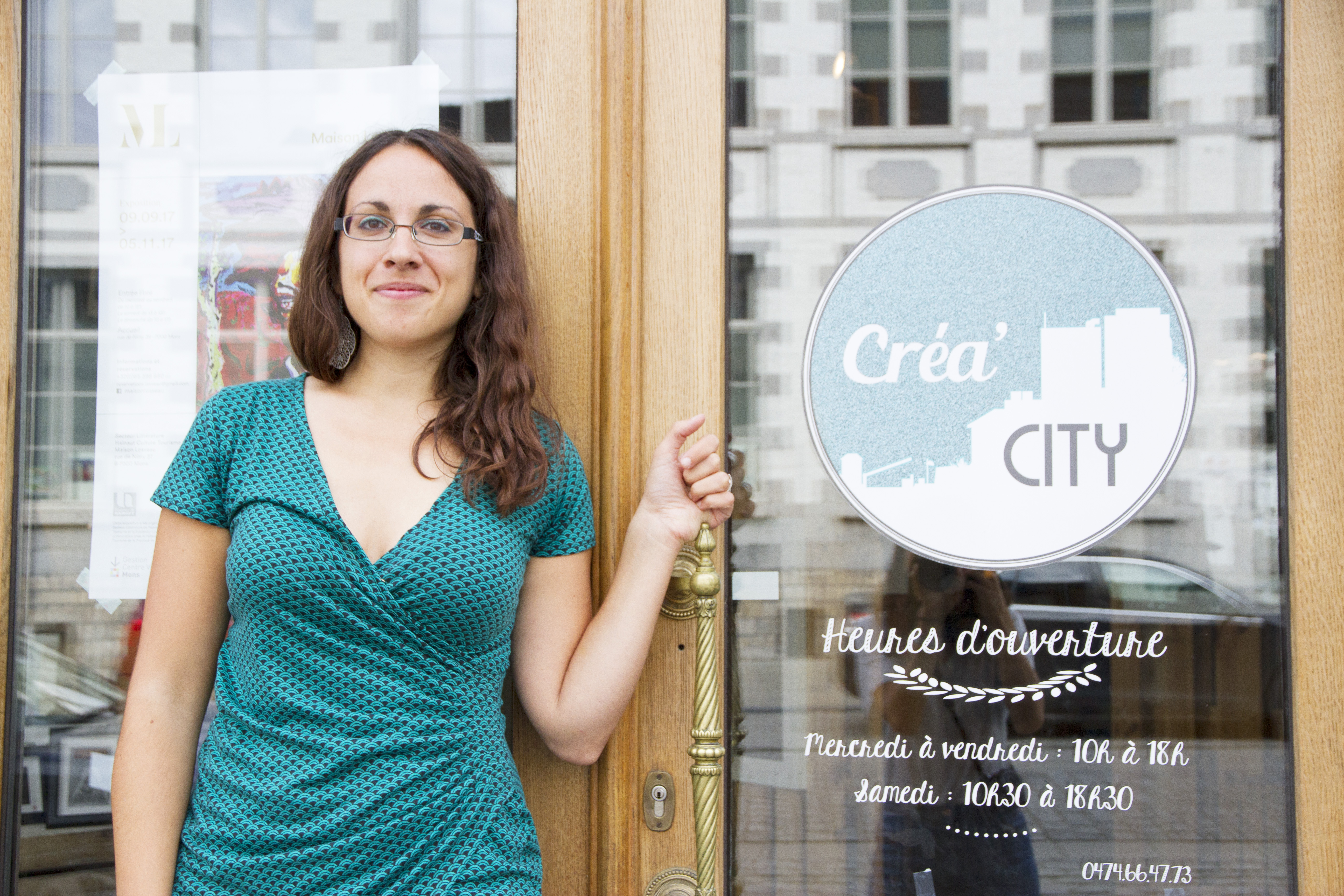 Interview de Créa'City à Mons